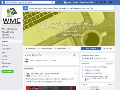 Une page Facebook pour mon entreprise