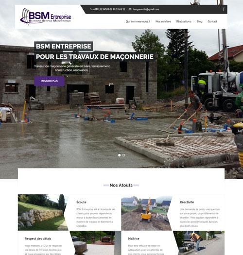 BSM Entreprise : Construction et rénovation de bâtiments à Grenoble