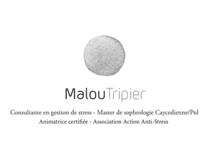 Malou Tripier Sophrologue thérapeute
