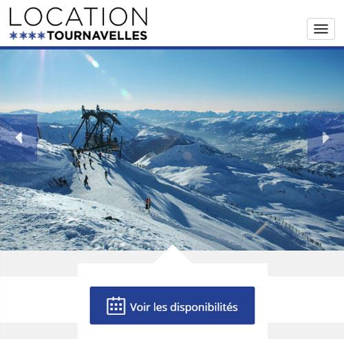 Location Tournavelles Arc 1800version mobile