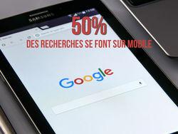 Plus de 50 % des recherches sur Google se font sur mobile