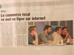 Le commerce local voironnais en ligne !