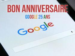 Google fête ses 20 ans !
