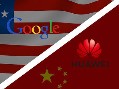 Vers la fin entre Google et Huawei ?
