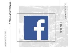 17 ans après... la création de Facebook !