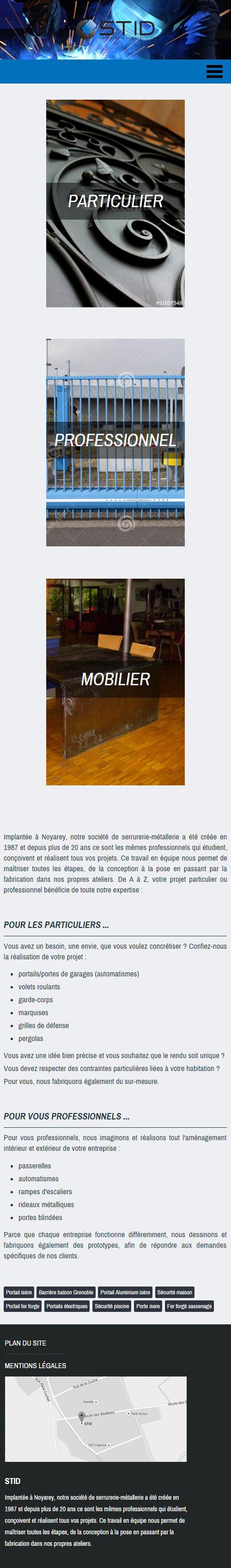 STID Serrurerie Métallerieversion mobile