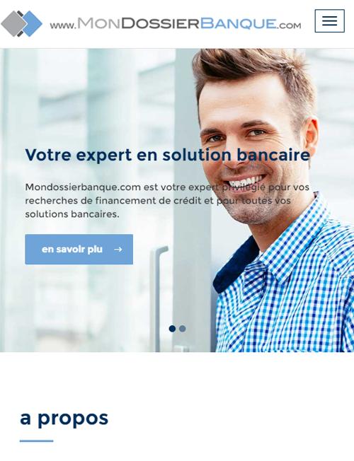 Mon Dossier Banqueversion mobile
