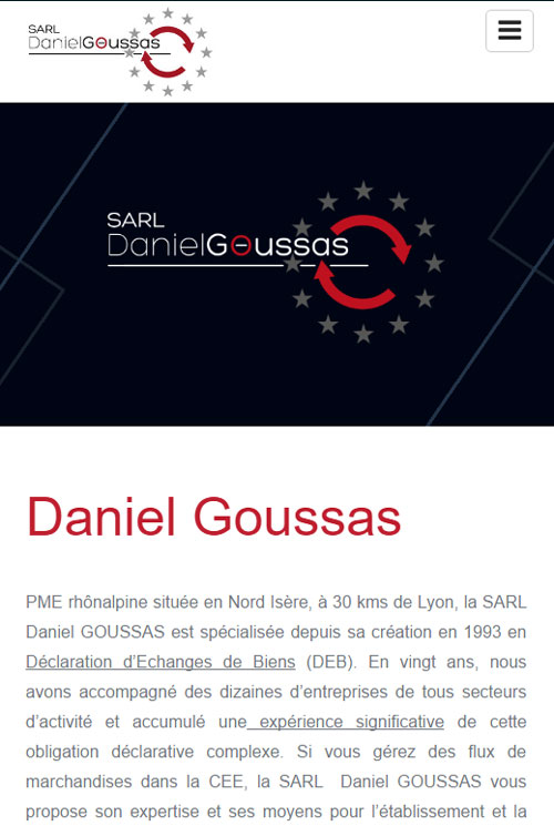 Daniel Goussasversion mobile