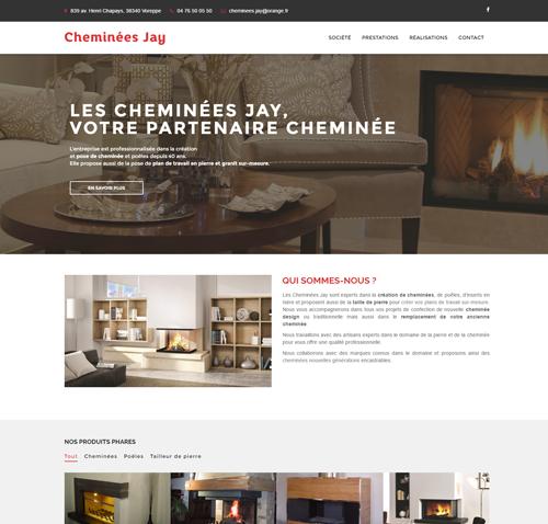 Cheminées Jay : Installation et création de cheminées (38)