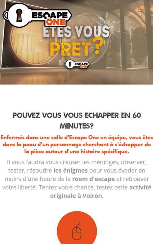 Escape Oneversion mobile