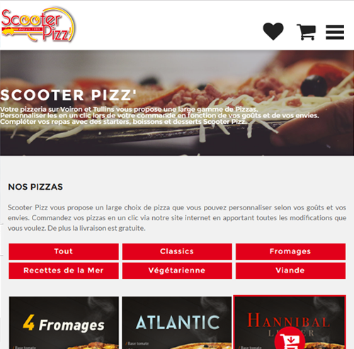 Scooter Pizz Voironversion mobile
