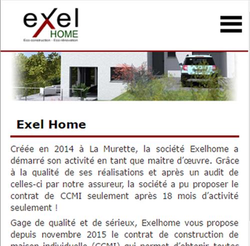 Exel Homeversion mobile