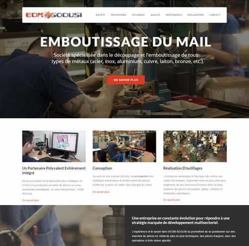 EDM Emboutissage du Mail à St Jean de Moirans