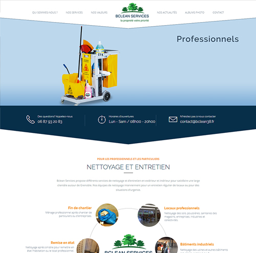 BClean Services, société de nettoyage