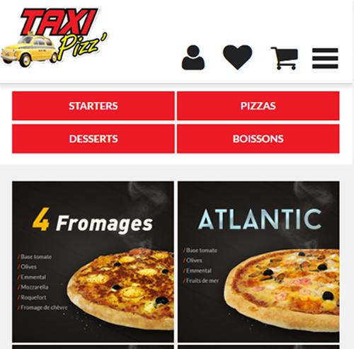 Taxi Pizz Villeurbanneversion mobile