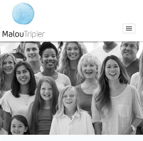 Malou Tripier Sophrologue thérapeuteversion mobile