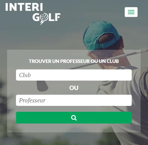 Intérigolf : l'annuaire des pros du golfversion mobile