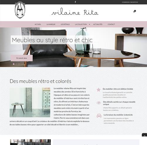 Vilaine Rita meubles design français