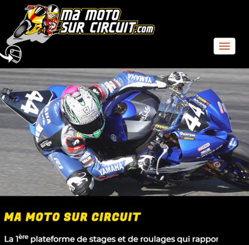 Ma moto sur circuitversion mobile