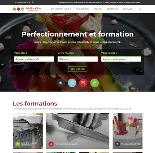 JP Formations en cuisine, restauration et hôtellerie