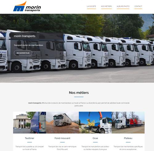 Morin Transports routier de marchandises