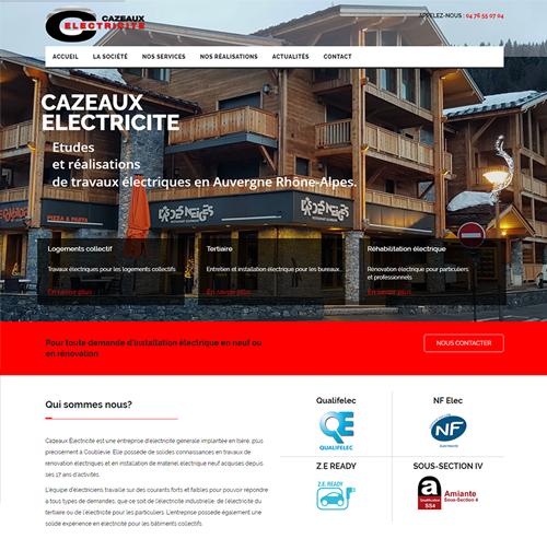 Cazeaux Electricité travaux électriques en Rhone Alpes