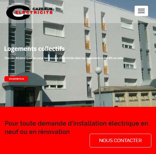 Cazeaux Electricitéversion mobile