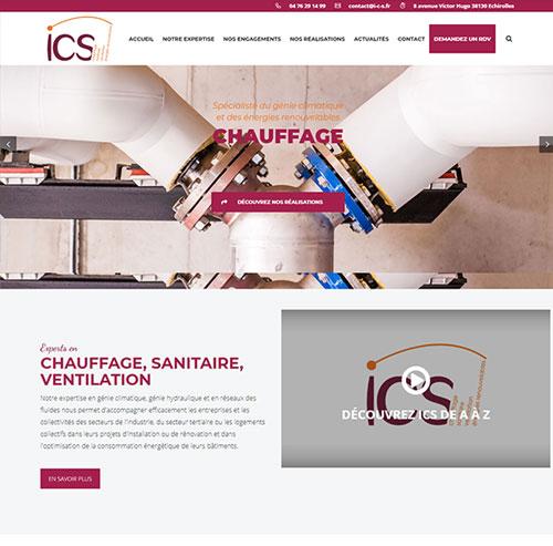 ICS Entreprise de Sanitaire, chauffage et énergies renouvelables