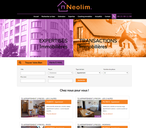 Neolim Agence Immobilier Voiron