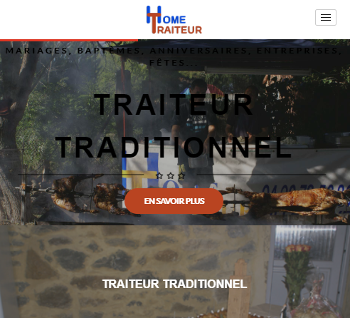 Home Traiteurversion mobile