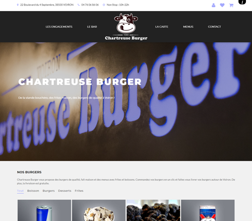 Chartreuse Burger Voiron