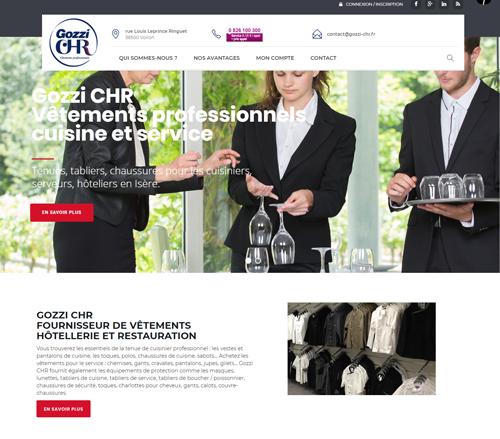 Gozzi CHR - Vêtements et matériel pour l'hôtellerie et la restauration