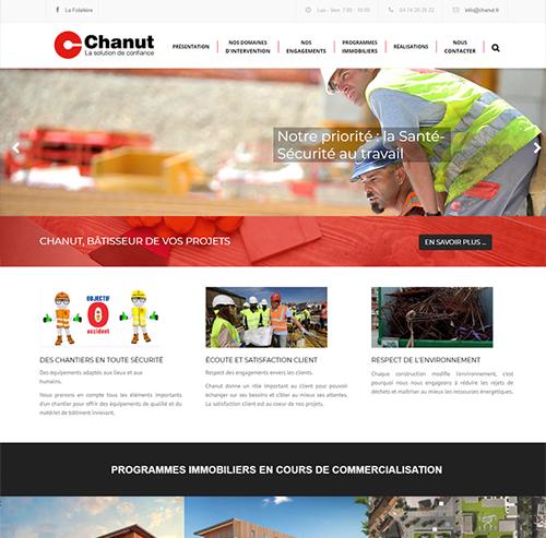 Chanut entreprise de construction en Nord-Isère