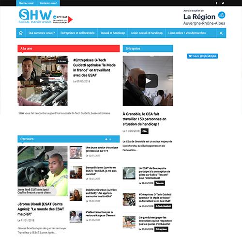 Social Handi Work - Site d'informations autour du travail protégé