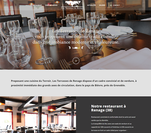 Restaurant traditionnel à Renage en Isère