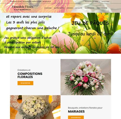 Farandole Fleurs à Voreppe et livraison de fleurs