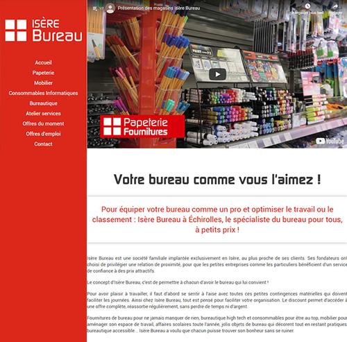 Isère Bureau magasins de fournitures de bureau à Grenoble