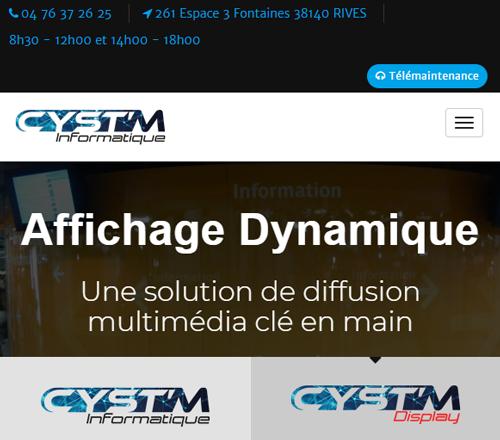 CYST'M Informatiqueversion mobile