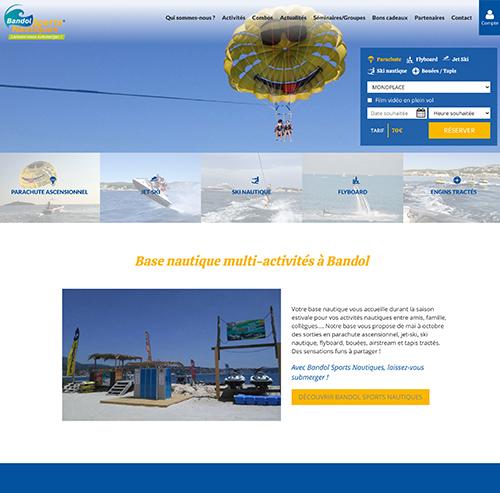 Bandol Sports Nautiques base nautique dans le 83