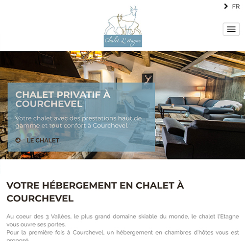 Chalet l'Etagneversion mobile