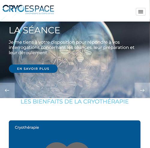 Cryo Espaceversion mobile