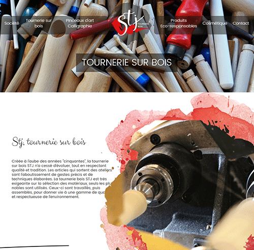 STJ Tournerie sur bois Pinceaux d'art, pinceaux cosmétiques