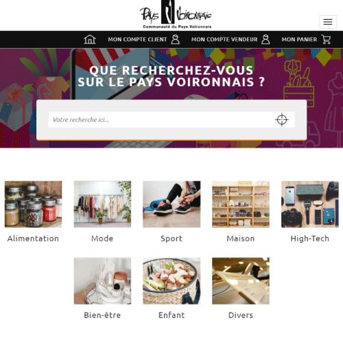 Pays Voironnais Shopversion mobile