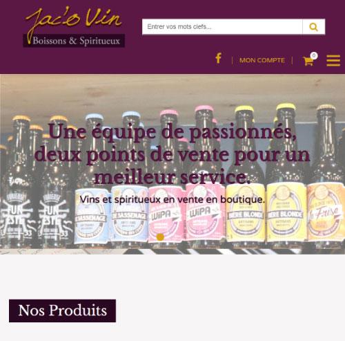 Jac'O Vin votre caviste à Voironversion mobile