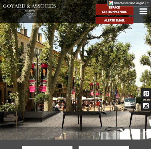 Goyard & Associésversion mobile