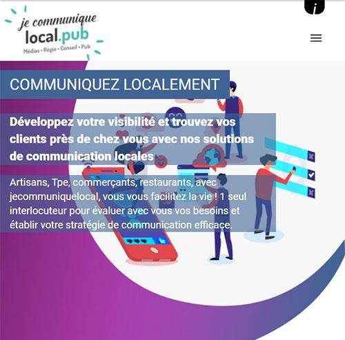 Jecommuniquelocalversion mobile